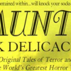 Haunted: Dark Delicacies III (review)