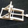 Catapult kit, assembled