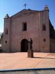 Mission San Gabriel front facade