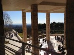 I love the views around the Getty