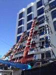 Garbage chutes on building under construction (1)
