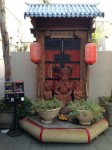 A small shrine at the Dynasty Center mall