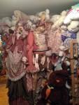 Two huge bunny dolls
