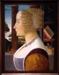 "Ghilandaio, ""Portrait of a Woman,"" ca. 1490"