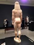Back of Greek Kuoros