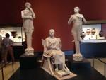 Three statues