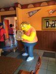 Barney inside Moe's