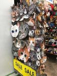 It's Japan - must have cats!
