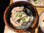 Steamed gyoza