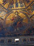 Jesus inside the Bapistry