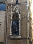 A statue from the Orsanmichele