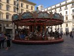 Carousel on Piazza Republica