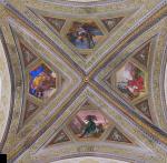 A ceiling in Santa Maria Novella Farmacia