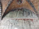 A Ucello fresco from the outdoor cloister