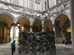 An installation at the Medici Riccardi