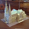 Paper model of Chartres Cathedral – IT'S DONE!