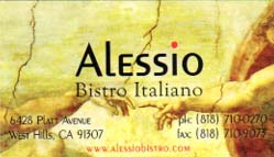 Alessio Bistro Italiano (restaurant review)