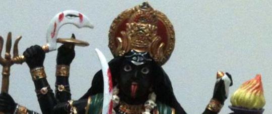 New Hindu Goddess statue, Kali