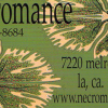 Two gorgeous business cards from Necromance