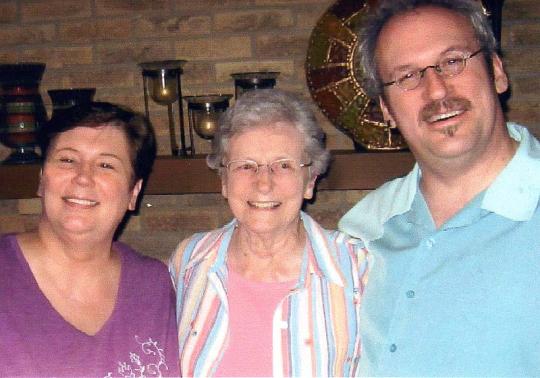 Mom, Hart and I