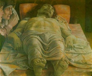 Christ Dead by Andrea Mantegna