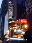 Scene from Times Square