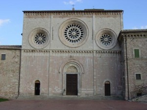 The facade of Chiesa di San Pietro