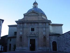 The facade of Chiesa Nuova