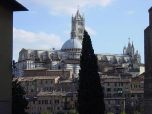 A view of the Duomo from San Domenico