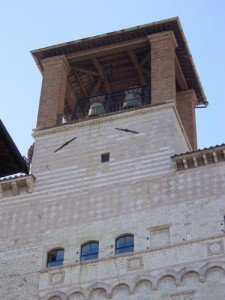 Bell tower in Perugia