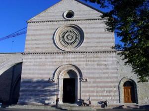 The facade of San Chiaro