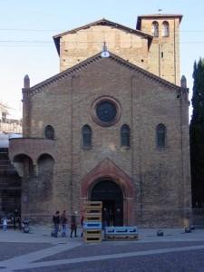 The facade of San Steffano