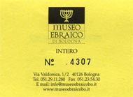 The ticket for Museo Ebriaca