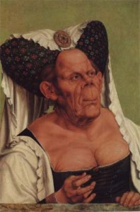 """""""Grotesque Old Woman"""" by Quinten Massys"""