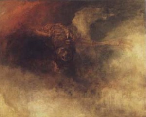 """""""Death on a Pale Horse"""" by J. M. W. Turner"""