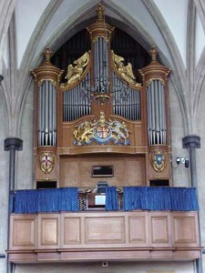 The Temple Church organ
