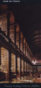A picture of the library from a pamphlet