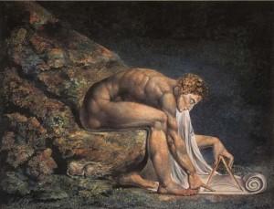 """Newton"" by William Blake"