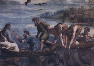 """""""The Miraculous Draught of the Fishes"""" by Raphael"""