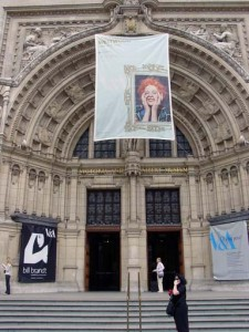 Facade of the Victoria and Albert Museum