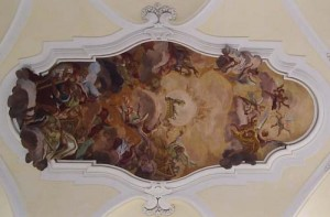 Ceiling from Chiesa di Montevergine