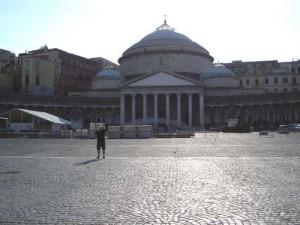 The facade of S. Francesco Di Paola