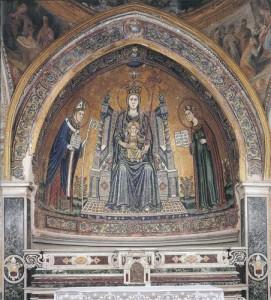 A mosaic in S. Restituta