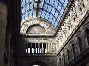 The Galleria Umberto I shopping structure
