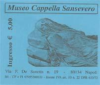 Ticket for Cappella San Severo