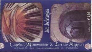 Ticket for San Lorenzo Maggiore