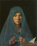One of my favorites - Annunziata by Antonello de Messina