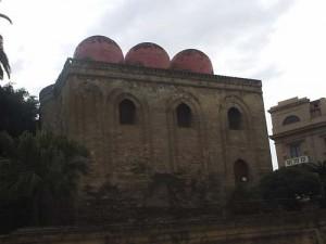 The facade of Chiesa di San Cataldo