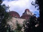 The domes at Chiesa di San Giovanni degli Eremiti