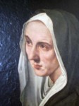 A painting of a nun - I really liked this one